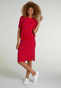 Oui - Pencil skirt - red violett - 1