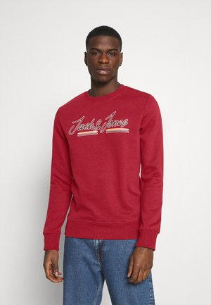 JWHFRANCO CREW NECK - Sweatshirt - brick red