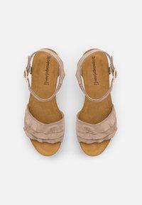 Copenhagen Shoes - ELVIRA  - Platform sandals - beige - 5
