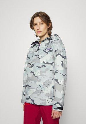 HOLLY ANORAK - Snowboard jacket - grey