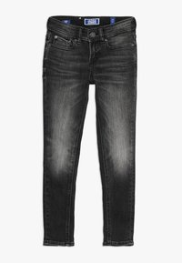 Jack & Jones Junior - JJILIAM JJORIGINAL - Jeans Skinny Fit - black denim - 0