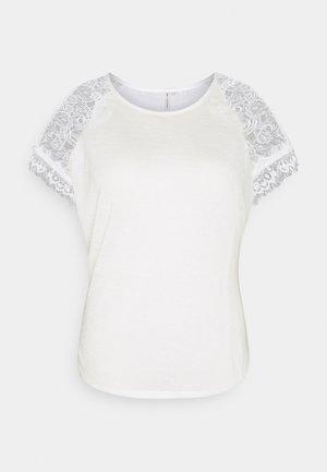 CARCELINE MIX - T-shirts print - cloud dancer