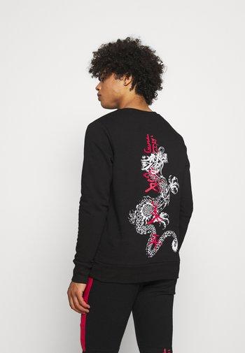 FIRE - Sweatshirt - black