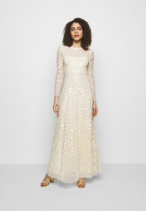 AURELIA LONG SLEEVE GOWN - Occasion wear - champagne
