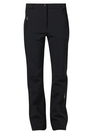 WOMAN LONG PANT - Stoffhose - nero