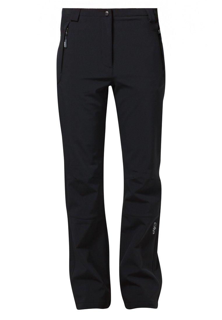 CMP Jogging Pantalon Woman Long Pant Noir Chevrons Jacquard