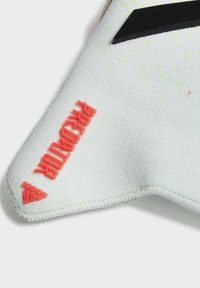 adidas Performance - PREDATOR 20 PRO FINGERSAVE GOALKEEPER GLOVES - Goalkeeping gloves - white - 1