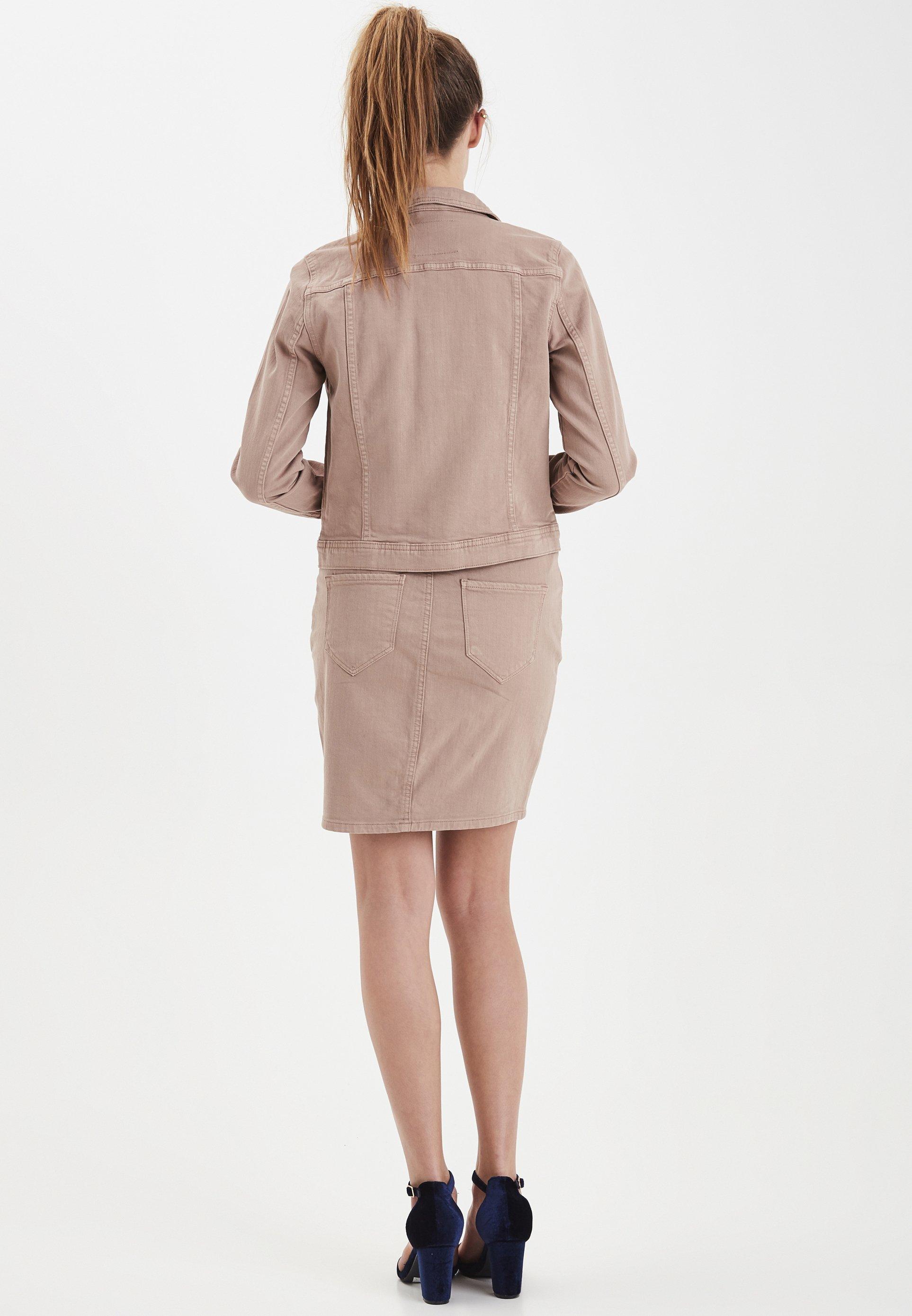 ICHI IHGUSTO - Veste en jean - sand - Vestes Femme aLIG7