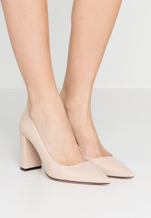 EXCLUSIVE INES CHUNKY  - High heels - nude