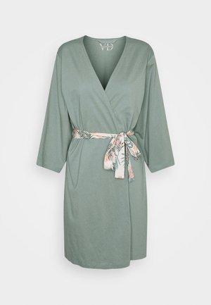 PALMS KIMONO - Dressing gown - jadegreen