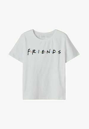FRIENDS - T-shirt z nadrukiem - bright white