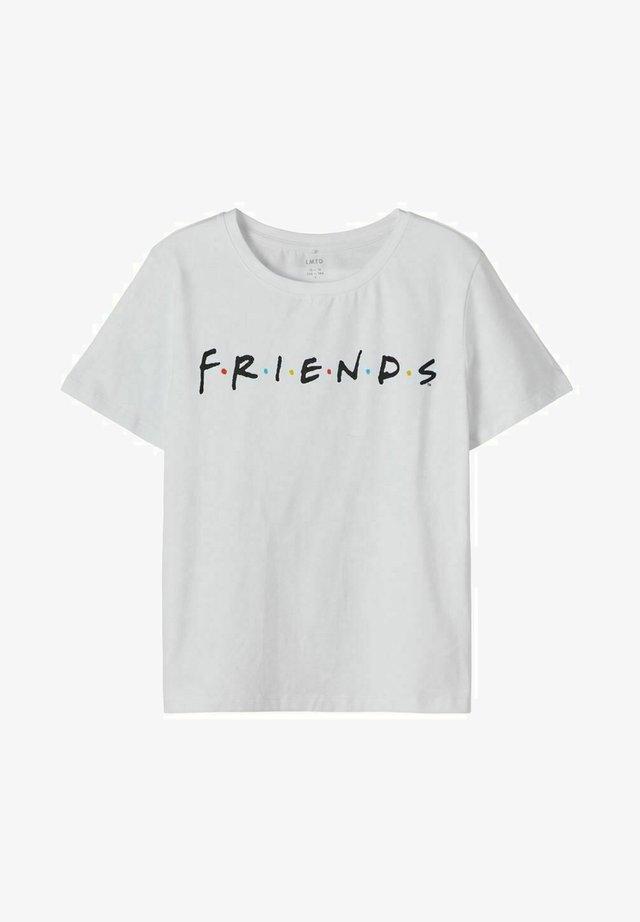 FRIENDS - Print T-shirt - bright white