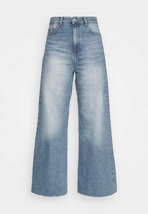 AIKO CROPPED - Džíny Relaxed Fit - empress blue