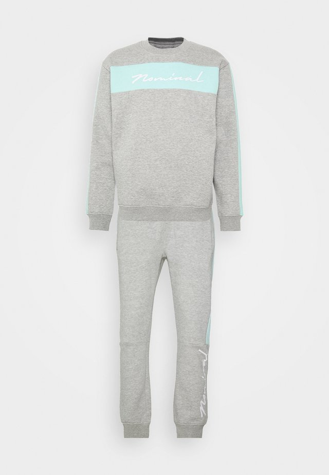 LUCAS TRACKSUIT - Sweatshirt - grey marl