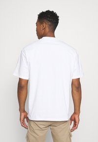 Only & Sons - ONSASHER LIFE TEE - T-shirt - bas - white - 2