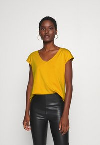 Anna Field - T-shirt basic - golden yellow - 0