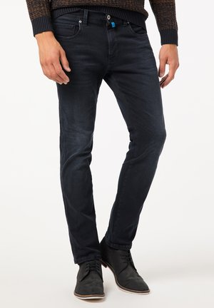 Straight leg jeans - dark blue used