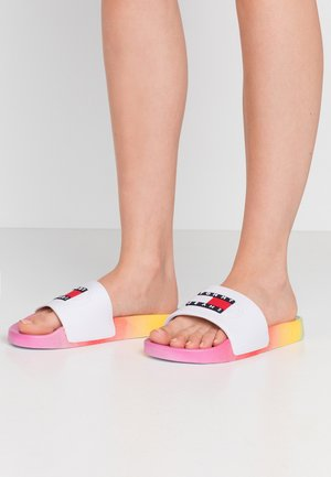 DEGRADE POOL SLIDE - Mules - pink daisy