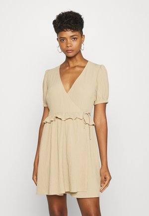 ENSYMPHONY DRESS - Denní šaty - travertine