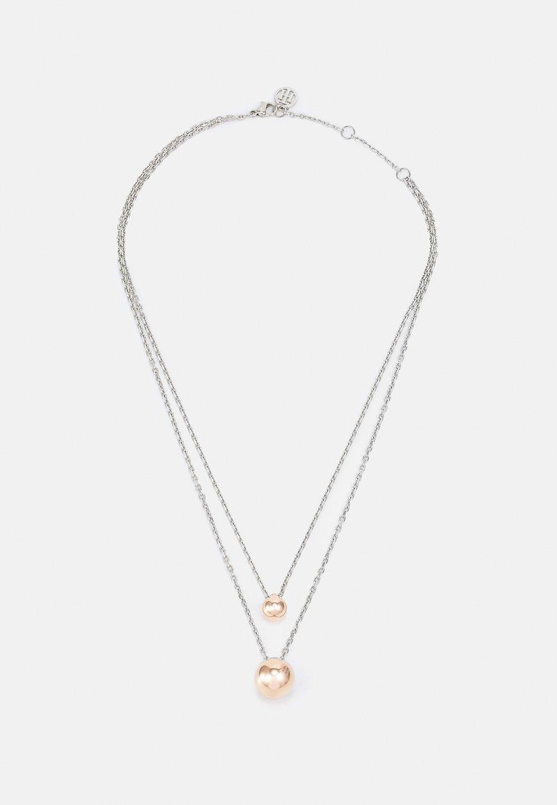 Tommy Hilfiger - ORB - Necklace - silver-coloured/roségold-coloured