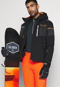 CMP - MAN PANT - Spodnie narciarskie - orange fluo - 4