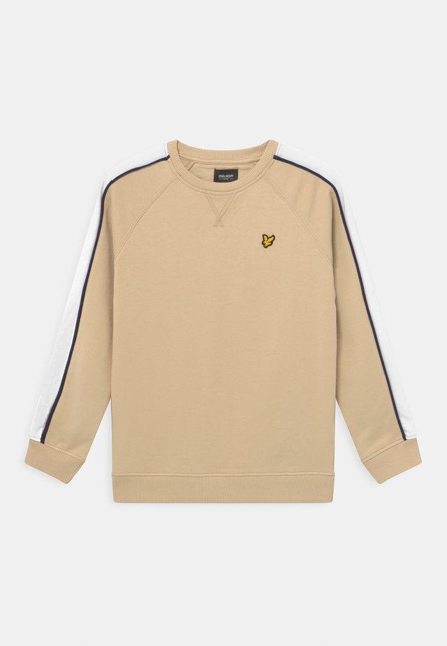 RAGLAN CUT AND SEW CREW NECK - Sweatshirt - oyster grey