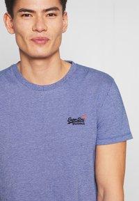 Superdry - VINTAGE CREW - Basic T-shirt - cobalt - 5