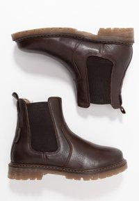Bisgaard - Zimní obuv - dark brown - 0