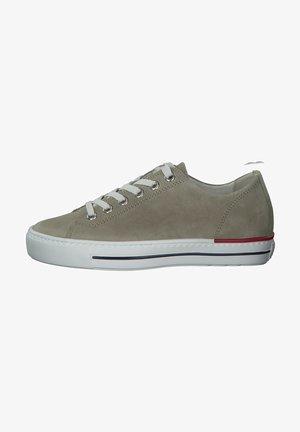 Sneaker low - mottled light grey