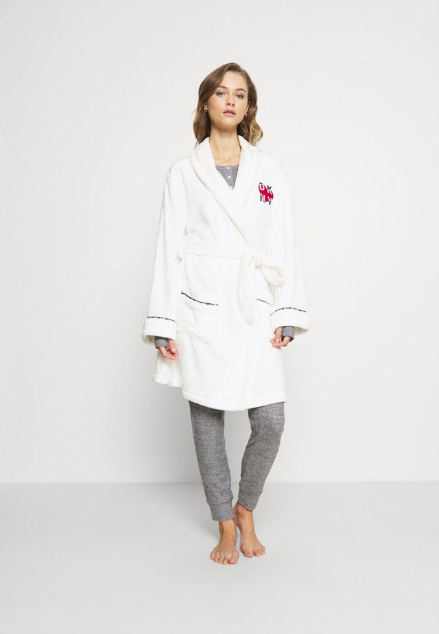 SIGNATURE SLEEP ROBE - Szlafrok - winter white
