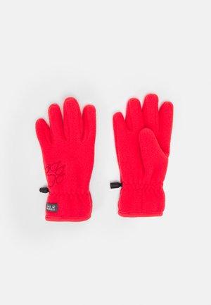 BAKSMALLA GLOVE KIDS UNISEX - Gloves - tulip red