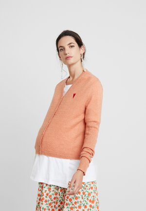 CARDIGAN - Cardigan - tawny orange