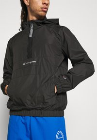 Champion - WINDBREAKER - Training jacket - black - 4
