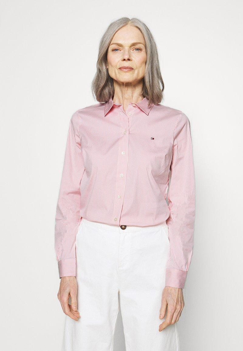 Tommy Hilfiger - ESSENTIAL - Button-down blouse - pink grapefruit