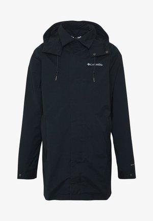 EAST PARK™ MACKINTOSH JACKET - Short coat - black