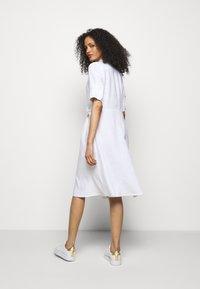 Lauren Ralph Lauren - CLASSIC DRESS - Shirt dress - white - 2