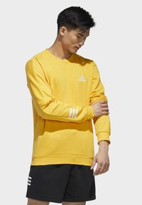 adidas Performance - ESSENTIALS TRAINING SPORTS PULLOVER - Mikina - active gold/white - 2