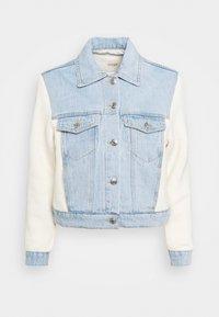 maje - BERLINGOT - Denim jacket - bleu ciel - 4