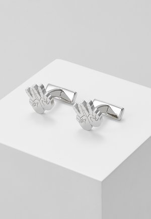 HAND - Cufflinks - silver-coloured