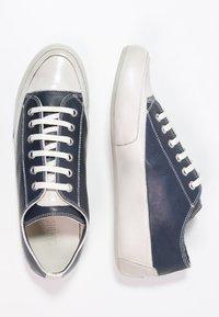 Candice Cooper - ROCK - Sneakers basse - navy/panna - 3