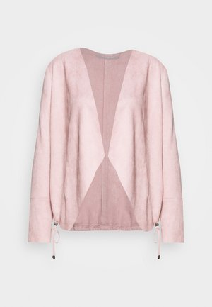 UNGEFÜTTERT - Faux leather jacket - lilas