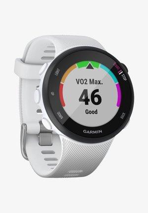 """GARMIN GPS-LAUFUHR """"FORERUNNER 45 S"""" WEISSES ARMBAND - Smartwatch - white"""