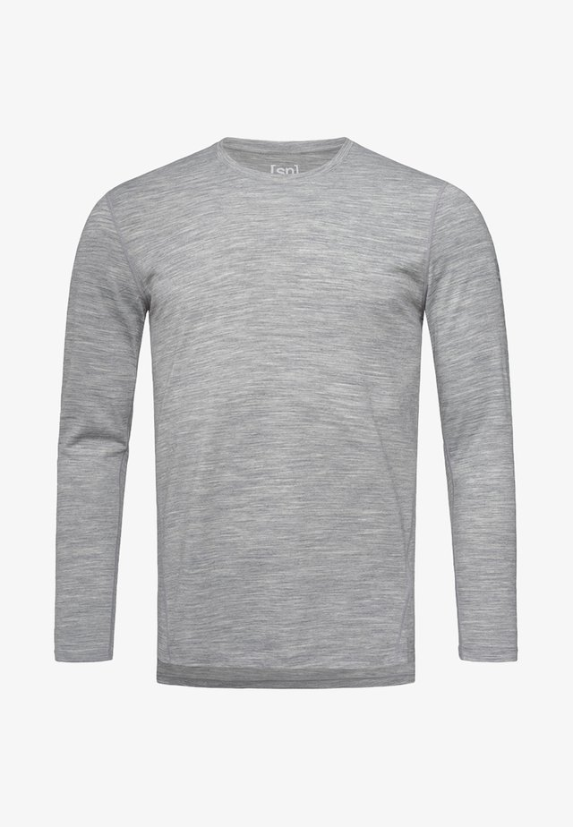 Long sleeved top - light gray