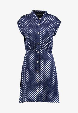 JULIETTE - Day dress - ecru/bleumarine