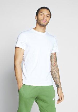 ALAN - Jednoduché triko - white