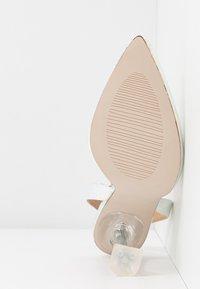 BEBO - SIMONE - Lodičky na vysokém podpatku - silver holographic - 6