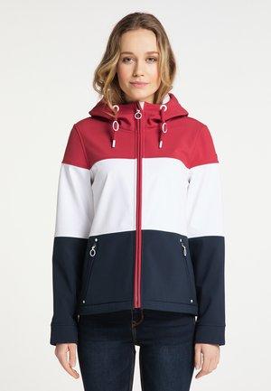 Outdoor jacket - rot nachtblau