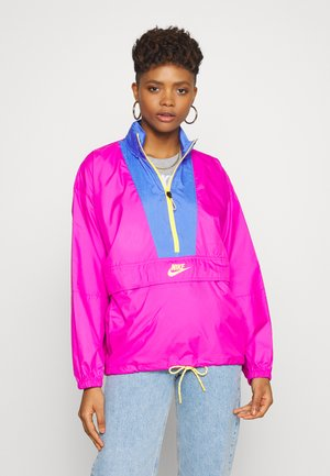 Windbreaker - fire pink/sapphire/laser orange