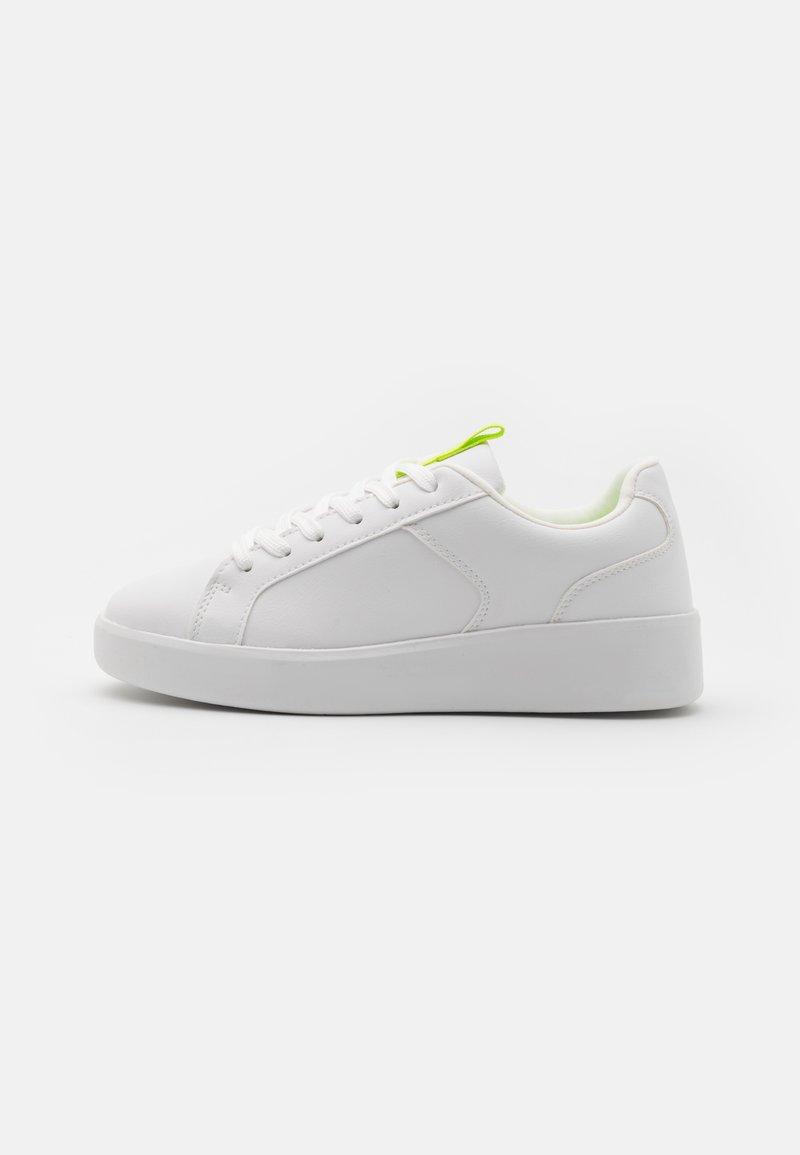 Even&Odd - Trainers - white/yellow
