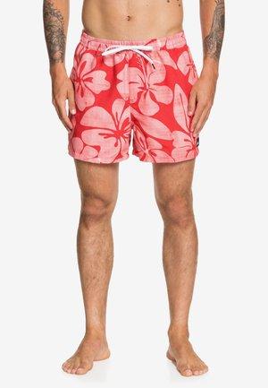 HAU  - Swimming shorts - quik red